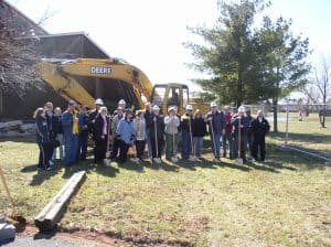 Community Center Remodel Ground Breaking March 2006