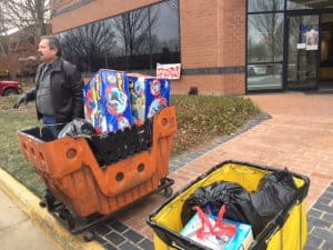 Just some of Sugarland Run's donations to Toys for Tots